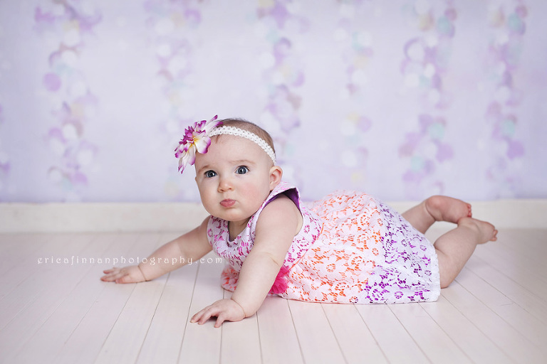 ec31876c401e Six month old baby girl photo session in Galion Ohio