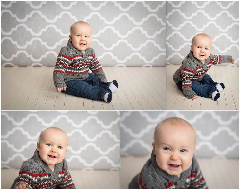 Six month old photo session 1